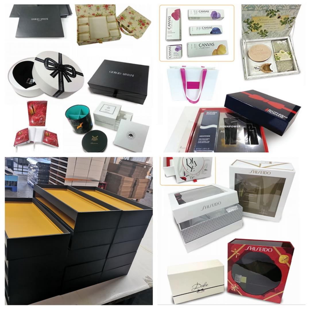 Box printing factory