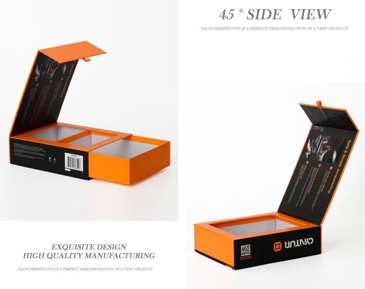 custom Rigid cardboard gift box custom